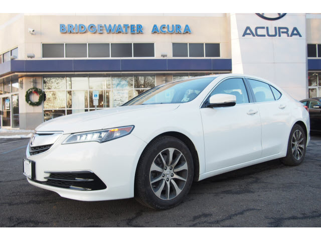 certified pre owned 2015 acura tlx w tech 4dr sedan w technology package in bridgewater p12563. Black Bedroom Furniture Sets. Home Design Ideas