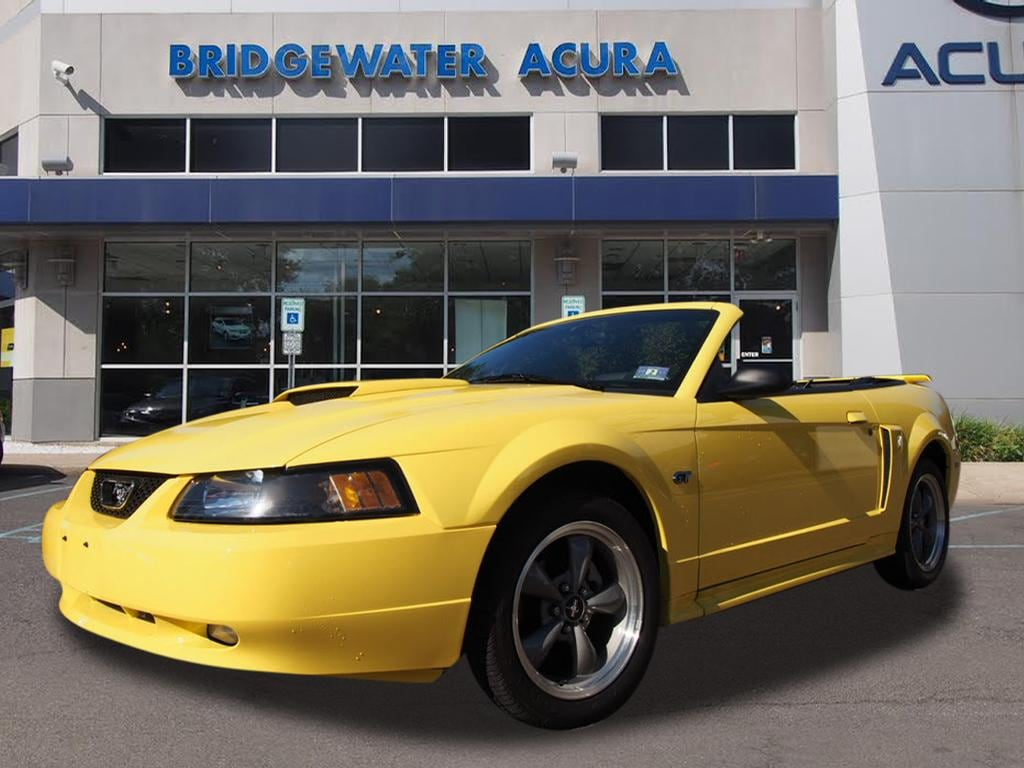 Pre owned 2001 ford mustang gt convertible in bridgewater p11345s