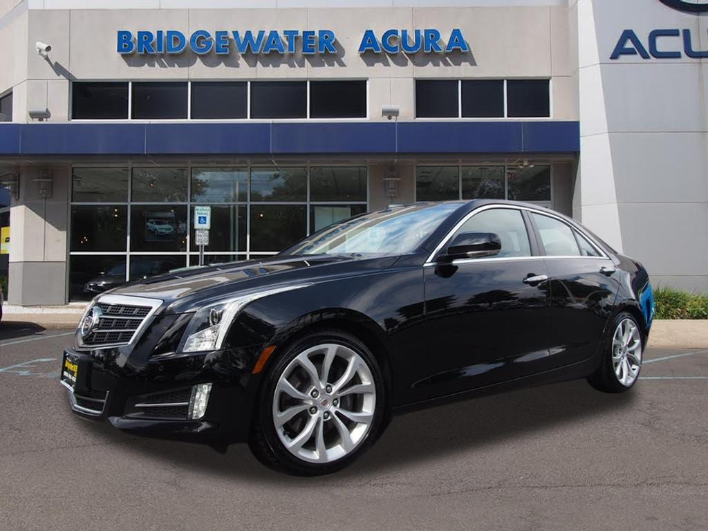 2013 Cadillac Ats 2.0 L Turbo >> Pre Owned 2013 Cadillac Ats 2 0l Turbo Performance Sedan In