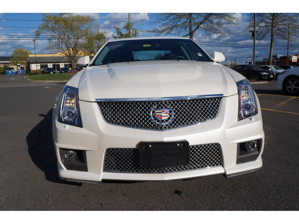 Pre Owned 2013 Cadillac Cts V Base Sedan In Bridgewater P9783s