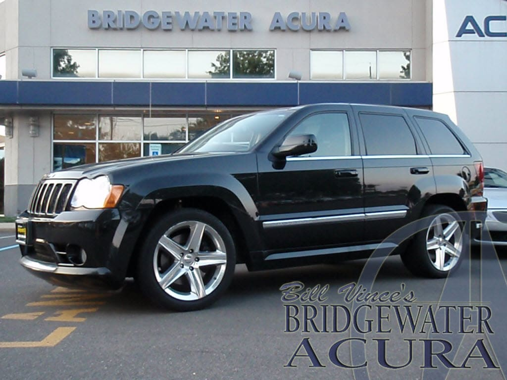 pre owned 2008 jeep grand cherokee srt8 suv in bridgewater p6801s bill vince s bridgewater acura. Black Bedroom Furniture Sets. Home Design Ideas