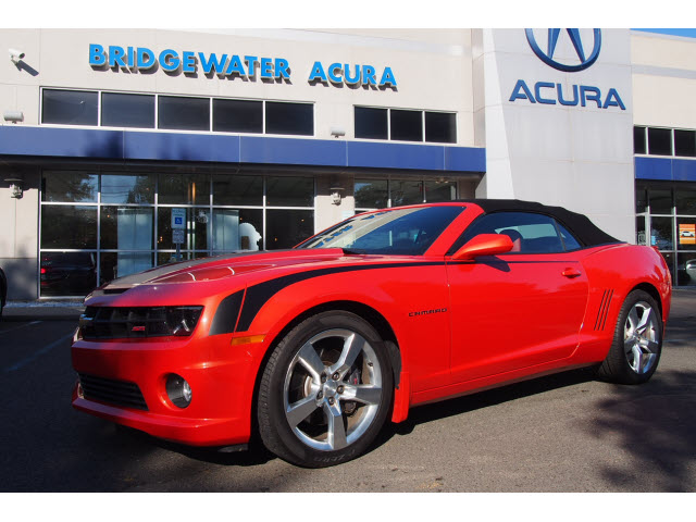 pre owned 2011 chevrolet camaro 2ss ss 2dr convertible w 2ss in