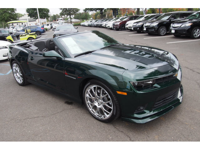 Pre-Owned 2015 Chevrolet Camaro Green Flash SS SS 2dr ...