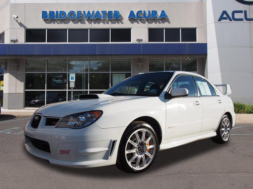 Pre Owned 2006 Subaru Impreza Wrx Sti Base W Gold Painted