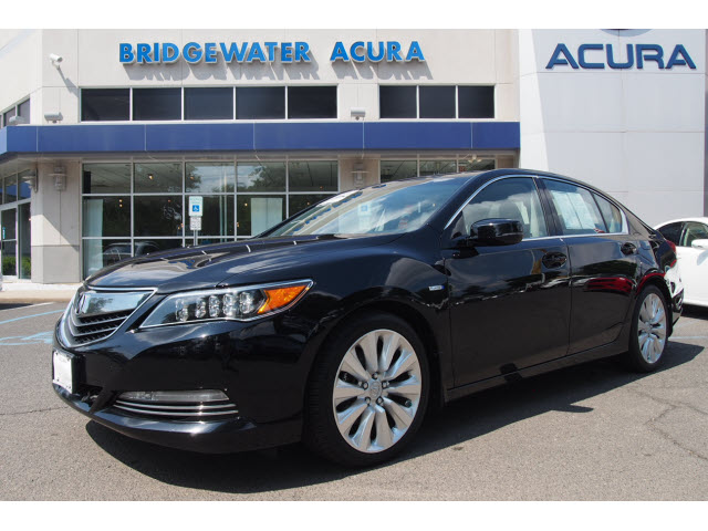 Certified Pre Owned 2017 Acura Rlx Sh Awd Sport Hybrid W Advance 4dr Sedan In Bridgewater P12120s Bill Vince S