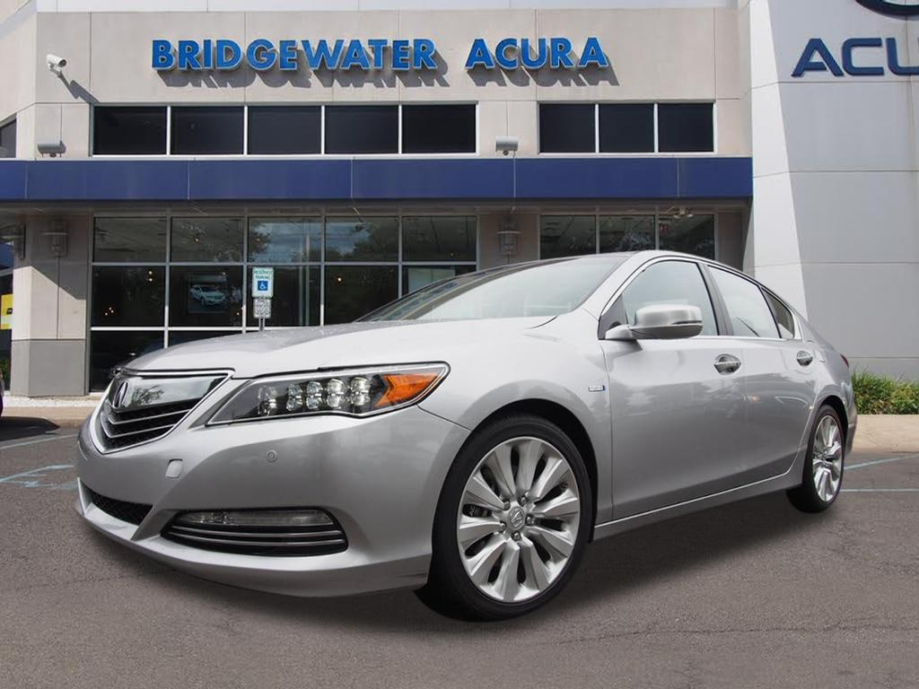certified pre owned 2014 acura rlx sport hybrid advance. Black Bedroom Furniture Sets. Home Design Ideas