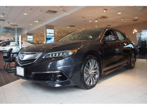 Pre-Owned 2015 Acura TLX V6 w/Tech FWD V6 4dr Sedan w/Technology Package