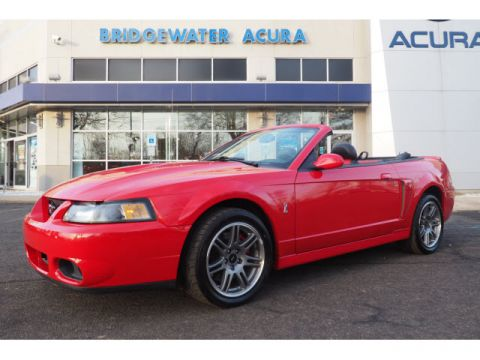 Pre-Owned 2003 Ford Mustang SVT Cobra 10th Anniversary