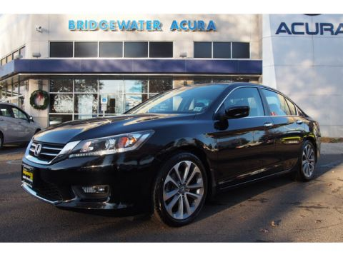 Pre-Owned 2015 Honda Accord Sport 6 MT FWD Sport 4dr Sedan 6M