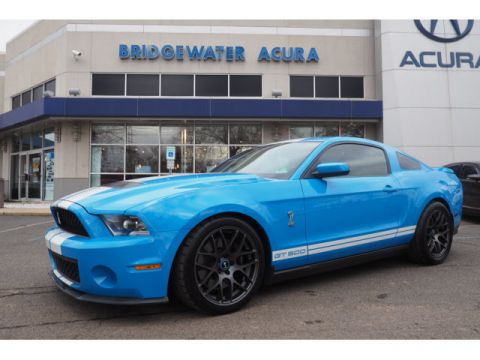 Pre-Owned 2010 Ford Shelby GT500 w/Nav