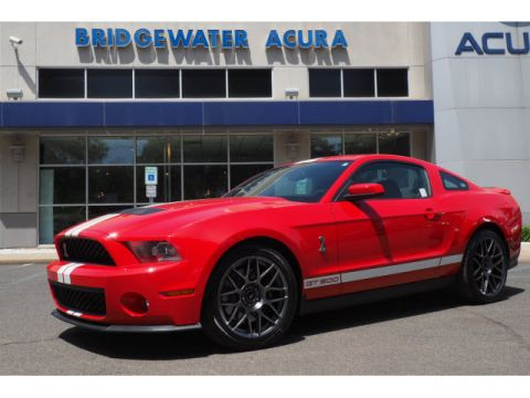 Pre-Owned 2011 Ford Shelby GT500 Performance Package