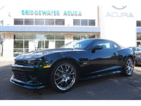 Pre-Owned 2015 Chevrolet Camaro Green Flash SS w/Nav